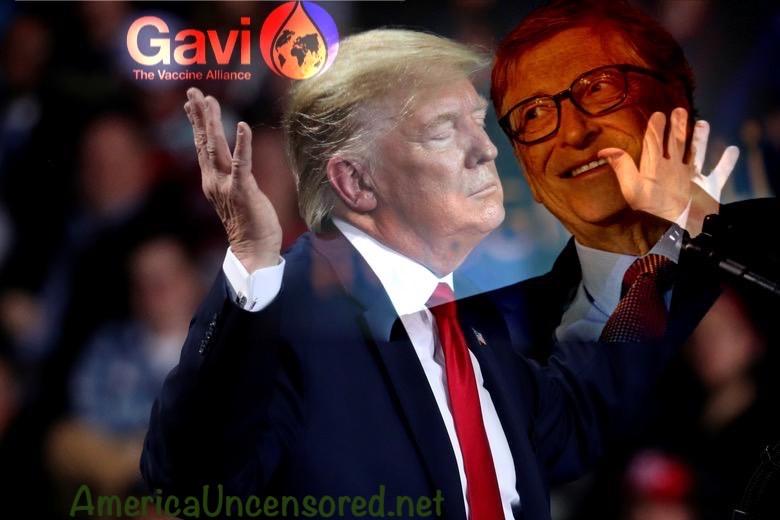 Trump surrenders to Gates' evil alliance